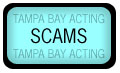 Scams section, scam definition database, Tampa public records search, and scam fighting tools for Tampa Bay Acting